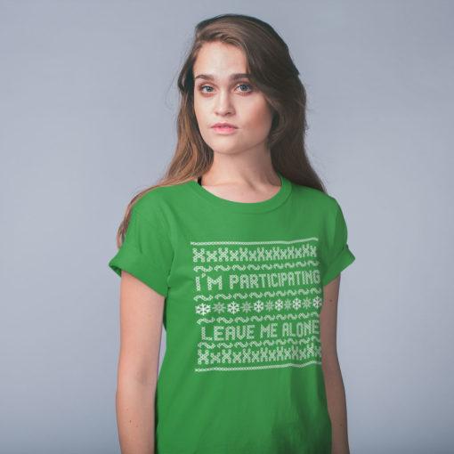 Christmas T-shirt, participation