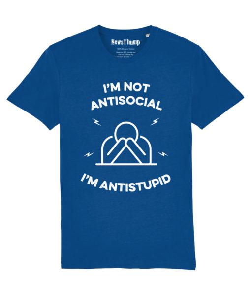 I'm not antisocial t-shirt