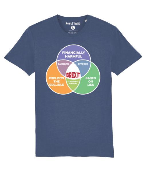 Brexit Venn Diagram T-shirt
