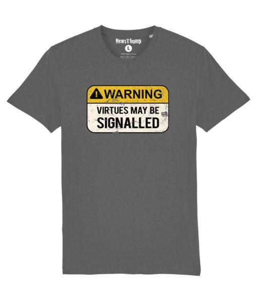 Warning Virtues may be signalled