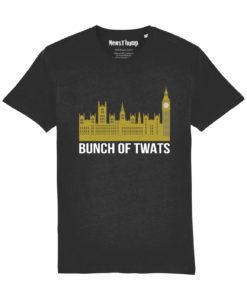 Bunch of Twats T-shirt in black